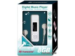 MP3/MP4-плеер Transcend T-Sonic 330 8GB White (TS8GMP330W)