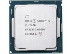 Процессор Intel Core i5 7400 3GHz (6MB, Kaby Lake, 65W, S1151) Tray (CM8067702867050)