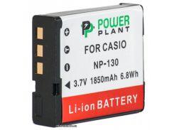 Аккумулятор (батарея) PowerPlant Casio NP-130 (DV00DV1313)