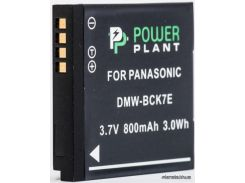 Аккумулятор (батарея) PowerPlant Panasonic DMW-BCK7E (DV00DV1301)