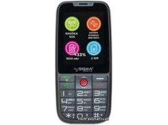 Мобильный телефон Sigma Comfort 50 Elegance 3 Grey