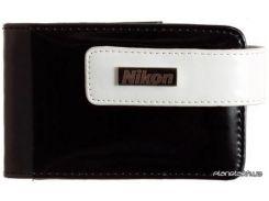 Рюкзак, сумка Nikon BLACK CASE (PU) оригинальный чехол для  S3100/S4100/S2500 (VAECSS26) для фото и видеокамер