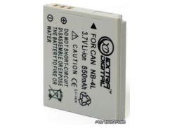 Аккумулятор (батарея) EXTRADIGITAL Canon NB-4L 850 mAh 12 мес. гарантии (DV00DV1006) для фото- видеокамер