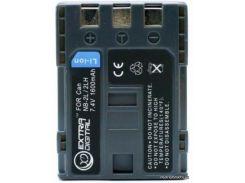 Аккумулятор (батарея) EXTRADIGITAL Canon NB-2LH 1600 mAh 7.4V 12 мес. гарантии (DV00DV1059) для фото- видеокамер