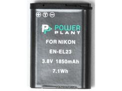 Аккумулятор (батарея) PowerPlant Nikon EN-EL23 (DV00DV1396) для фото- видеокамер + бесплатная доставка