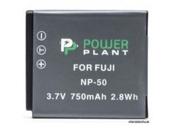 Аккумулятор (батарея) PowerPlant Аккумулятор для Kodak KLIC-7004, Fuji NP-50 (DV00DV1223) для фото- видеокамер