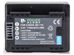 Аккумулятор (батарея) PowerPlant Canon BP-718 chip (DV00DV1385) для фото- видеокамер + бесплатная доставка