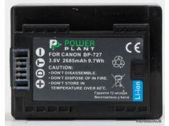 Аккумулятор (батарея) PowerPlant Canon BP-727 chip (DV00DV1386) для фото- видеокамер + бесплатная доставка