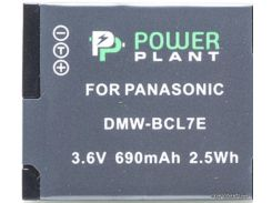 Аккумулятор (батарея) PowerPlant Panasonic DMW-BCL7E (DV00DV1380) для фото- видеокамер