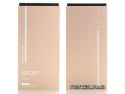 Портативная батарея ( PowerBank ) Remax Relan RPP-65 10000 mAh Gold