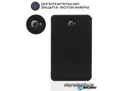 Чехол, сумка Samsung Premium кожаный чехол-подставка для Samsung Tab A 10.1 T580/T585 Black pkg