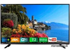 Телевизор Bravis LED-48G5000 + T2 black (LED-48G5000 + T2 black)