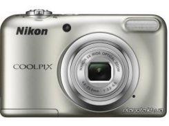 Фотоаппарат Nikon Coolpix A10 Silver (VNA980E1)