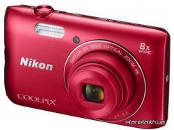 Фотоаппарат Nikon Coolpix A300 Red (VNA963E1)