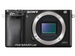 Фотоаппарат SONY Alpha 6000 body Black (ILCE6000B.CEC)