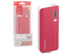 Портативная батарея ( PowerBank ) Remax Proda Jane Power Box PPL-6 V10i 20000 mAh Red