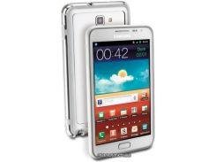 Cellular Line силиконовая накладка для Samsung Galaxy Note White (BUMPERNOTEW)