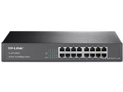 TP-Link TL-SF1016DS Unmanaged 10/100M Switch (GreenEco) (TL-SF1016DS)