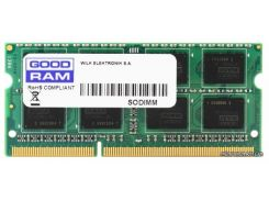 GOODRAM для ноутбука DDR3 4Gb 1600Mhz БЛИСТЕР (GR1600S3V64L11S/4G)