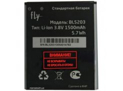 Аккумулятор Fly BL5203 для Fly IQ442 Quad
