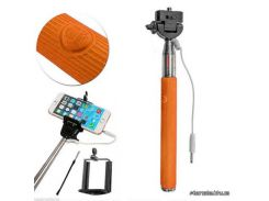 Monopod with cable take pole orange