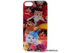 Drobak для Apple Iphone 5 (cats) 3D (930206)