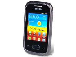 Jekod силиконовый чехол TPU Protective для Samsung S5302 Galaxy Pocket Grey (JKTPUSAS5302)