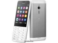 Nokia 230 Dual White Silver