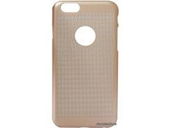 Накладка CORD Origin&Soft Touch силиконовая (PC) Apple iPhone 6 golden