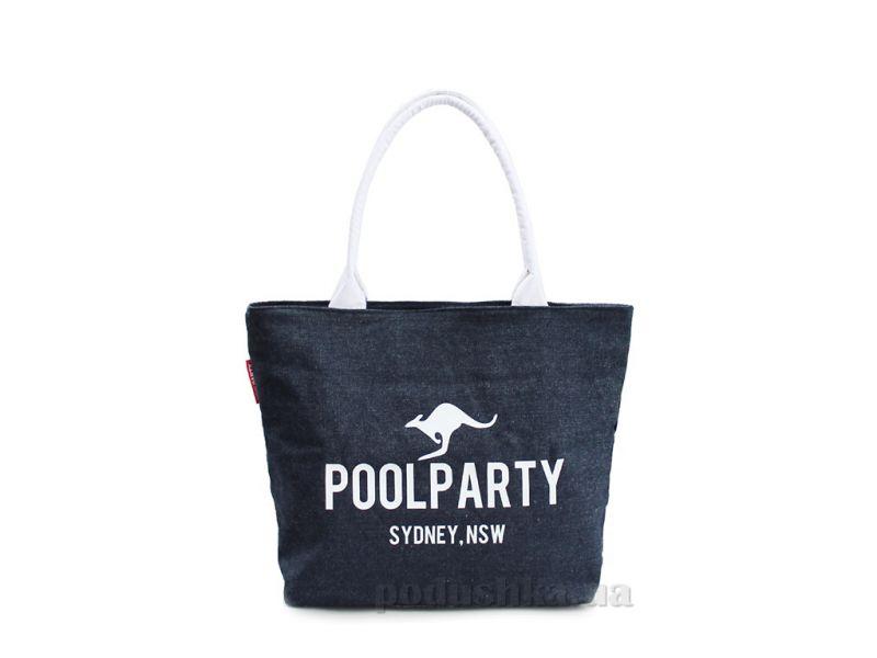 bf4da0a414f1 Сумка джинсовая Poolparty Pool-7 Jeans купить недорого за 513 грн ...
