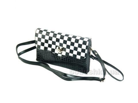 ff2060a8f063 Сумка-клатч Traum 7212-03 черно-белые шахматки купить недорого за ...