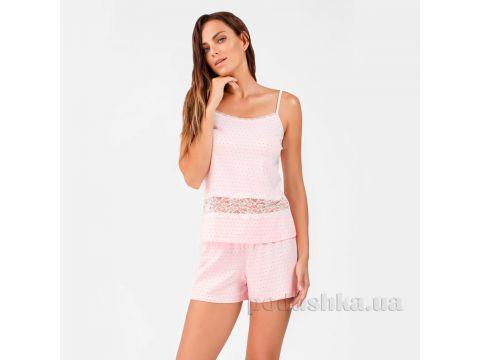 Пижама женская Ellen LNP 232/001 розовая нежность XL Киев