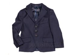 Пиджак для мальчика синий Юность 205 30 (Р-122, ОГ-56, ОТ-57)