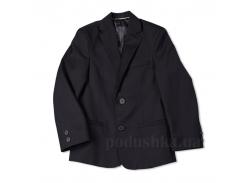Школьный пиджак с прорезными карманами Юность 316 черный 32 (Р-128, ОГ-60, ОТ-60)