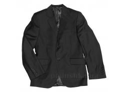 Пиджак черный подростковый Юность 206 46 (Р-170, ОГ-76, ОТ-69)