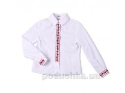 Блуза с вышивкой Юность 306 32 (Р-128, ОГ-60, ОТ-60)