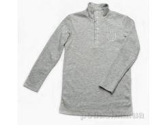 Гольфик для мальчика Модный Карапуз 03-00591 серый 122