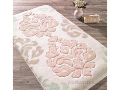 Коврик для ванной Confetti Bella Damask размер 80x140