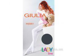 Колготки темно-серые зимние для девочки 250 den Merry Giulia Iron 152-158