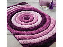 Коврик для ванной Confetti Elite Efesus фиолетовый размер 55x60