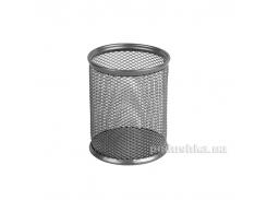 Подставка для ручек круглая металлическая Axent 2110-03-A