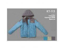 Куртка демисезонная для мальчика Bembi КТ113 плащевка 128