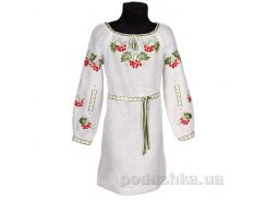 Платье с поясом для девочки Калина Гармония 152
