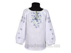 Сорочка для девочки Васильки Гармония 134
