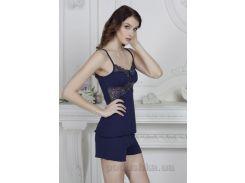 Пижама Violet delux П-М-45 синий S