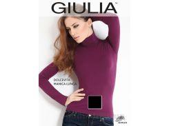 Женская черная водолазка Dolcevita manica lunga Giulia nero L/XL