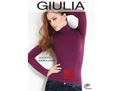 Женская красная водолазка Dolcevita manica lunga Giulia red L/XL