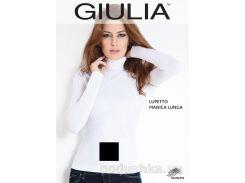 Женская черная водолазка Lupetto manica lunga Giulia nero L/XL