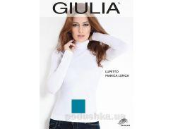 Женская синяя водолазка Lupetto manica lunga Giulia wave L/XL