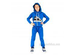 Трикотажный спортивный костюм Кед Kids Couture электрик 30 (рост 100)